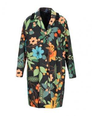 Пальто ANDREA TURCHI. Цвет: зеленый
