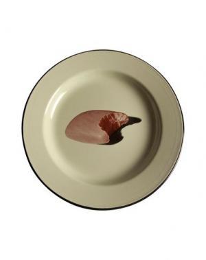 Блюдо SELETTI WEARS TOILETPAPER. Цвет: кислотно-зеленый