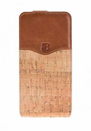 Чехол для iPhone Burkley 7/8 Plus. Цвет: коричневый