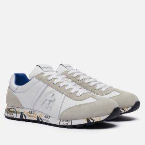 Мужские кроссовки Lucy 206E Premiata. Цвет: белый