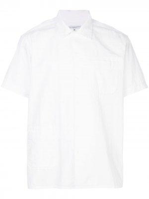Полосатая рубашка свободного кроя Engineered Garments. Цвет: белый