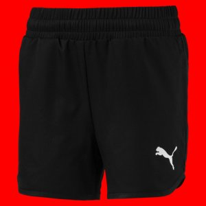Детские шорты Active Shorts PUMA. Цвет: черный