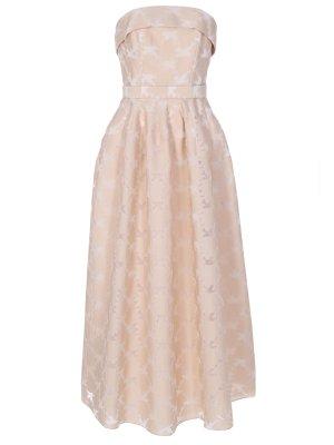 Платье с открытой линией плеч TEREKHOV GIRL