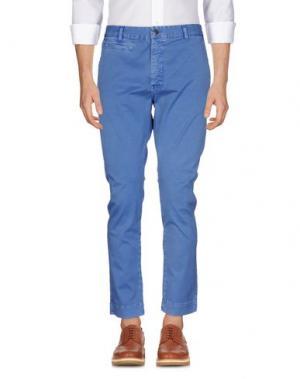 Повседневные брюки EX-J. Цвет: лазурный