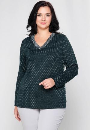 Пуловер Limonti. Цвет: зеленый