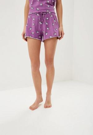 Шорты домашние Lika Dress. Цвет: фиолетовый