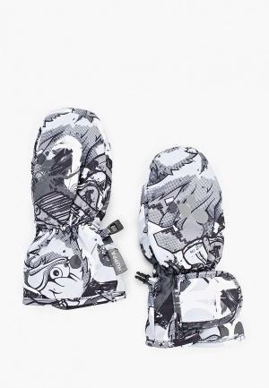 Варежки Huppa LIINA. Цвет: серый