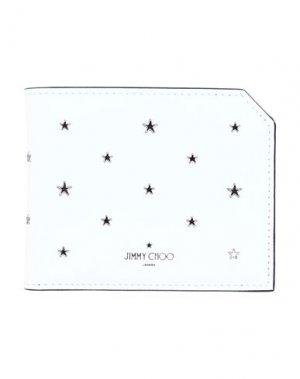 Бумажник JIMMY CHOO. Цвет: белый