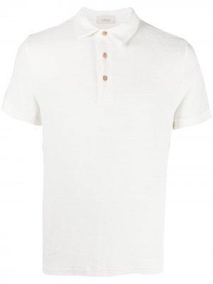 Махровая рубашка поло Altea. Цвет: белый