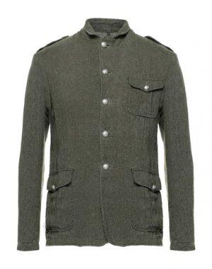 Пиджак BRIAN DALES. Цвет: зеленый-милитари