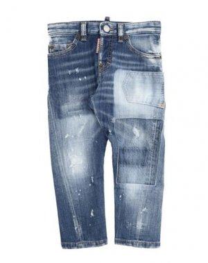 Джинсовые брюки DSQUARED2. Цвет: синий