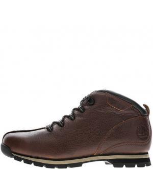 Коричневые кожаные ботинки в спортивном стиле Splitrock Hiker Timberland. Цвет: коричневый