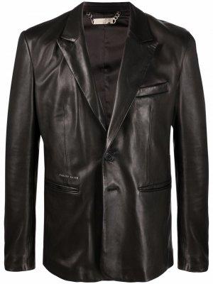 Пиджак Casanova Philipp Plein. Цвет: черный