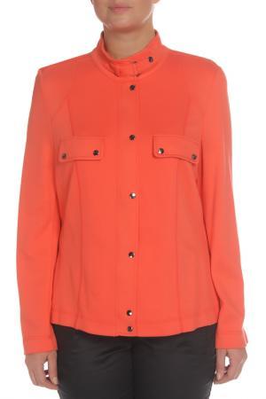 Жакет FRANK WALDER. Цвет: оранжевый