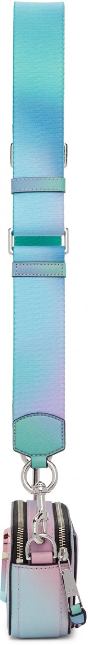 Multicolor Snapshot Airbrush 2.0 Bag Marc Jacobs. Цвет: green multi