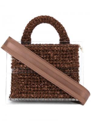Madame Tardieu mini bag 711. Цвет: коричневый