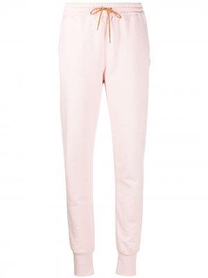 Спортивные брюки с вышитым логотипом PS Paul Smith. Цвет: розовый
