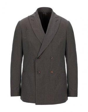 Пиджак YOON. Цвет: темно-коричневый