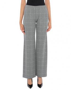 Повседневные брюки LA FABRIQUE. Цвет: серый