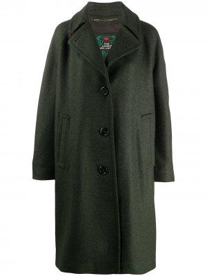 Пальто оверсайз Marc Jacobs. Цвет: зеленый