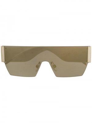 Mask sunglasses Dolce & Gabbana Eyewear. Цвет: черный