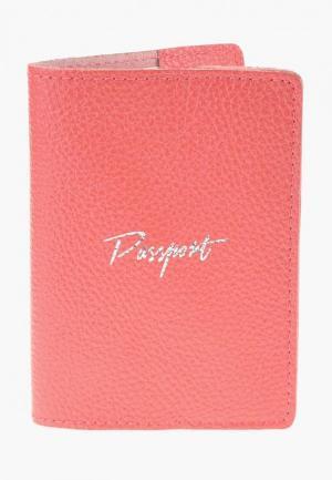 Обложка для паспорта BB1. Цвет: розовый
