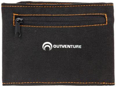 Кошелек Outventure. Цвет: черный