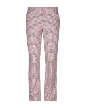 Повседневные брюки BAND OF OUTSIDERS. Цвет: красный