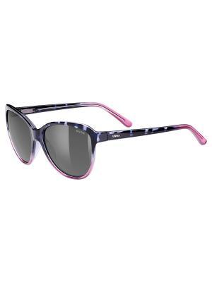 Солнцезащитные очки Uvex. Цвет: сиреневый