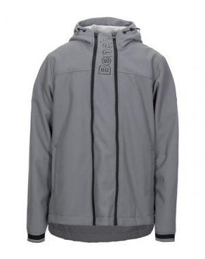 Куртка BENCH.. Цвет: серый