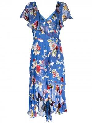 Платье миди Electra Alice+Olivia. Цвет: разноцветный