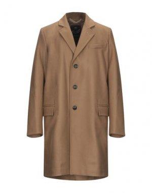 Пальто GLOVERALL. Цвет: верблюжий