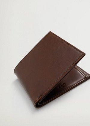 Бумажник из искусственной кожи - Classic Mango. Цвет: коричневый средний