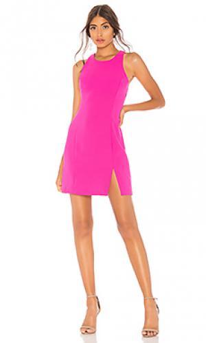 Платье colada Amanda Uprichard. Цвет: фуксия