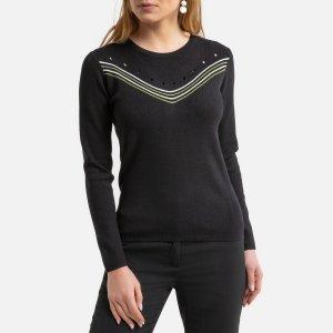 Пуловер LaRedoute. Цвет: черный