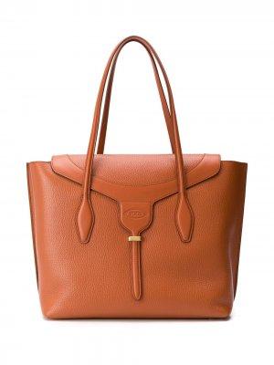 Tods большая сумка-тоут Joy Tod's. Цвет: коричневый