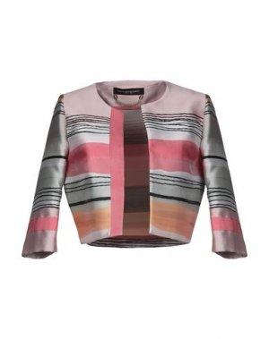 Пиджак CARLA MONTANARINI. Цвет: розовый