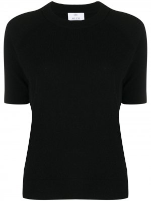 Кашемировая футболка Allude. Цвет: черный
