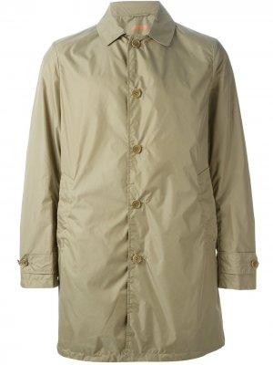 Куртка-дождевик Limone Aspesi. Цвет: зеленый