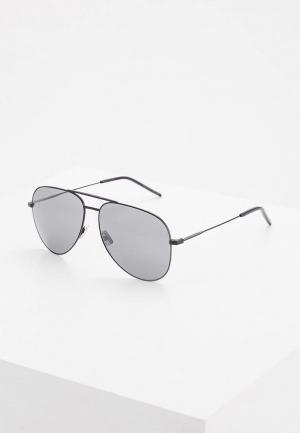 Очки солнцезащитные Saint Laurent CLASSIC 11029. Цвет: черный