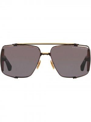 Солнцезащитные очки Souliner-Two Dita Eyewear. Цвет: черный