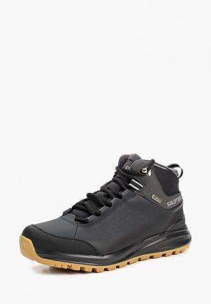 Ботинки трекинговые Salomon KAÏPO CS WP 2. Цвет: черный