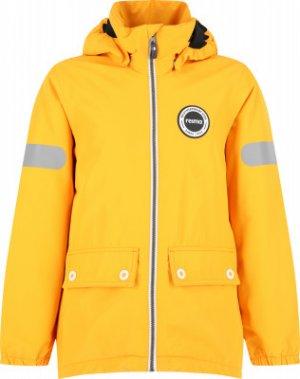 Куртка утепленная для мальчиков Symppis, размер 128 Reima. Цвет: желтый