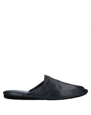 Домашние туфли CAMPANILE. Цвет: синий