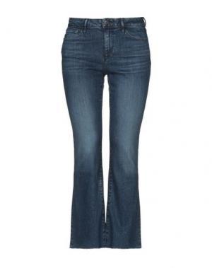 Джинсовые брюки-капри 3x1. Цвет: синий