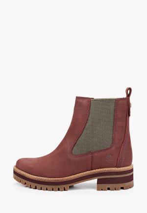 Ботинки Timberland Courmayeur Valley. Цвет: бордовый