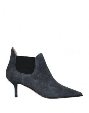 Полусапоги и высокие ботинки LERRE. Цвет: серый