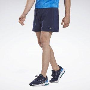 Спортивные шорты 2-в-1 Running Essentials Reebok. Цвет: vector navy