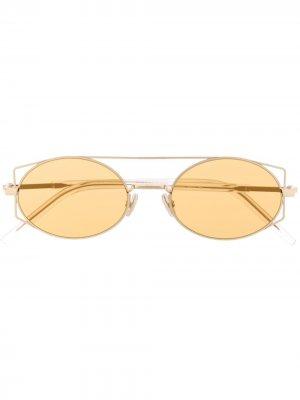 Солнцезащитные очки Architectural Dior Eyewear. Цвет: нейтральные цвета