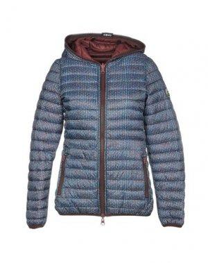 Куртка SHOCKLY. Цвет: синий